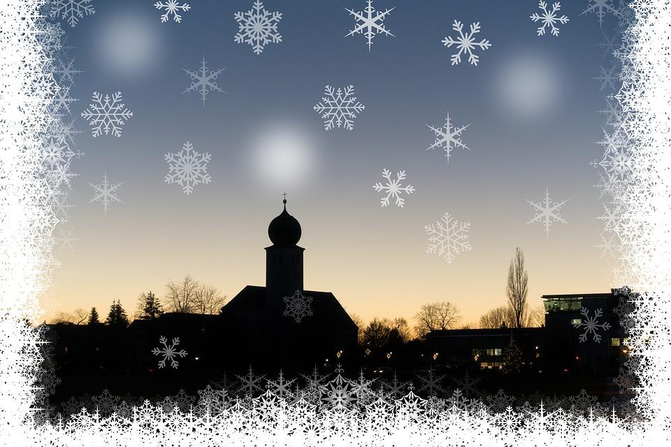 Weihnachten Silhouette Dorf · Kostenloses Bild auf Pixabay