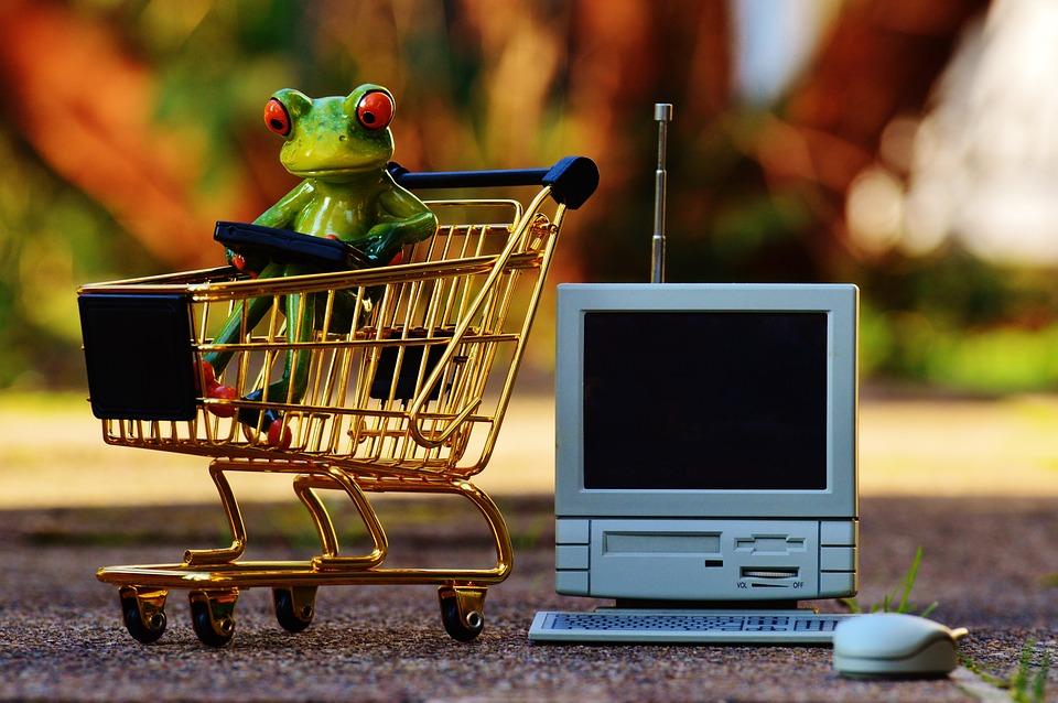 オンライン ショッピング, ショッピング カート, ショッピング, 購入, キャンディ, トロリー