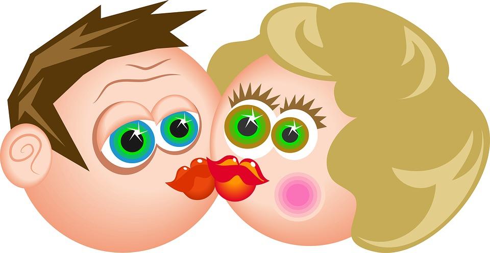bilder küssen