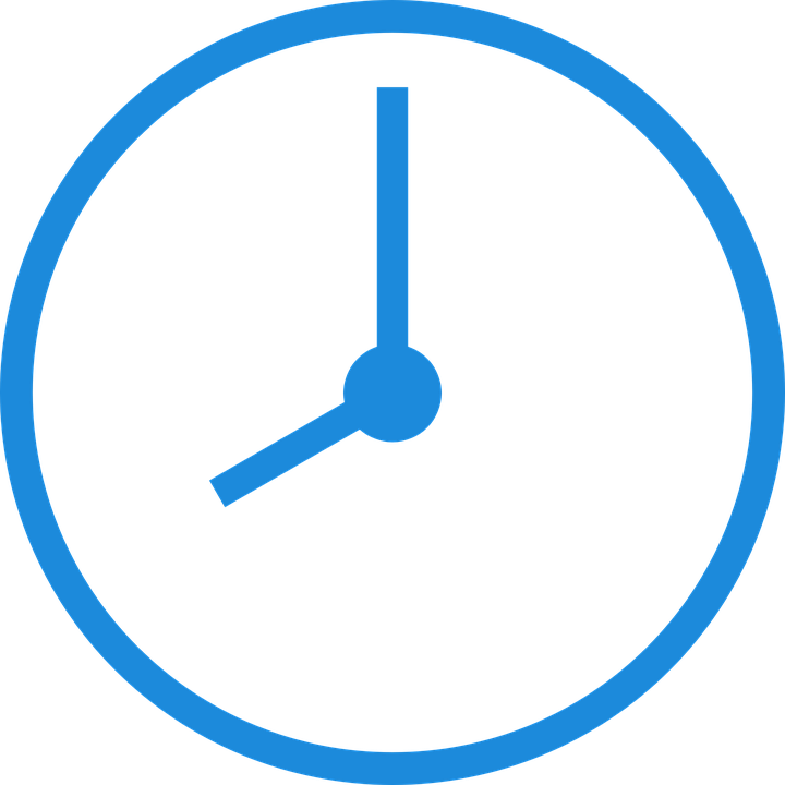 Clock Time Of · Free Vector Graphic On Pixabay