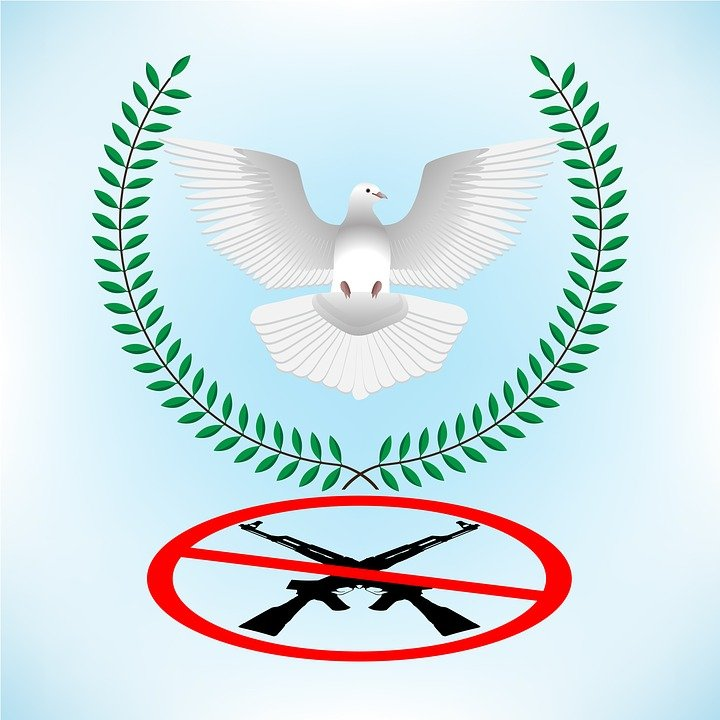 Peace Bird No War Freedom Free Image On Pixabay