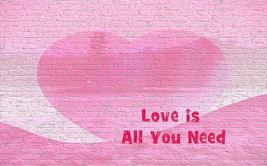Superb Romantic Quote Valentine Heart Love Red Ro