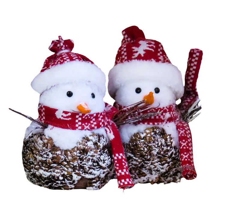 snowman isolated winter free photo on pixabay