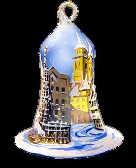 christmas ornaments christmas bell - Christmas Bell
