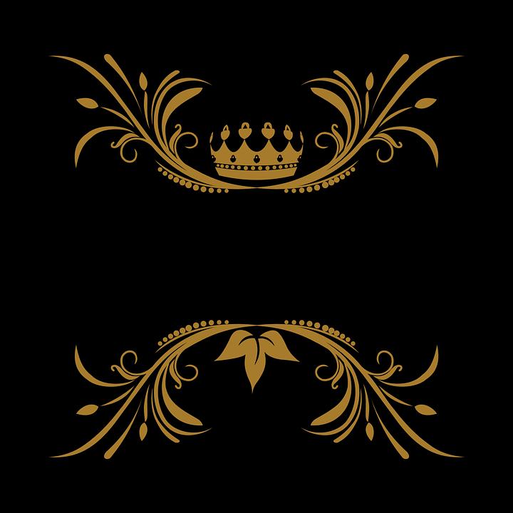 Vetor Arabesco Floral Gráfico Vetorial Grátis No Pixabay