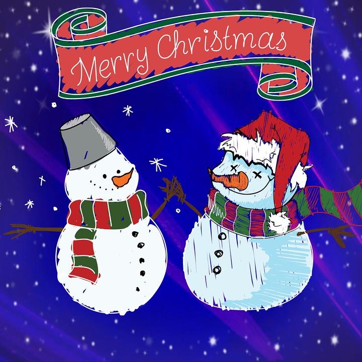 Weihnachten Schneemann Schnee · Kostenloses Bild auf Pixabay