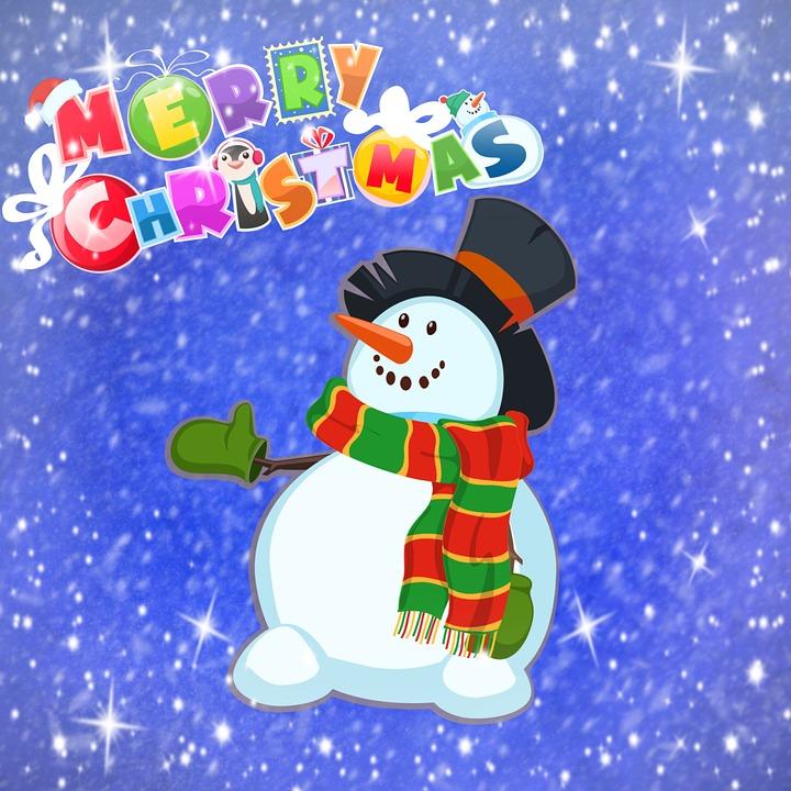 Frohe Weihnachten Schneemann · Kostenloses Bild auf Pixabay