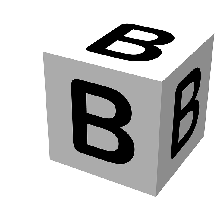 Free illustration Letter Block B Wooden Alphabet Free Image