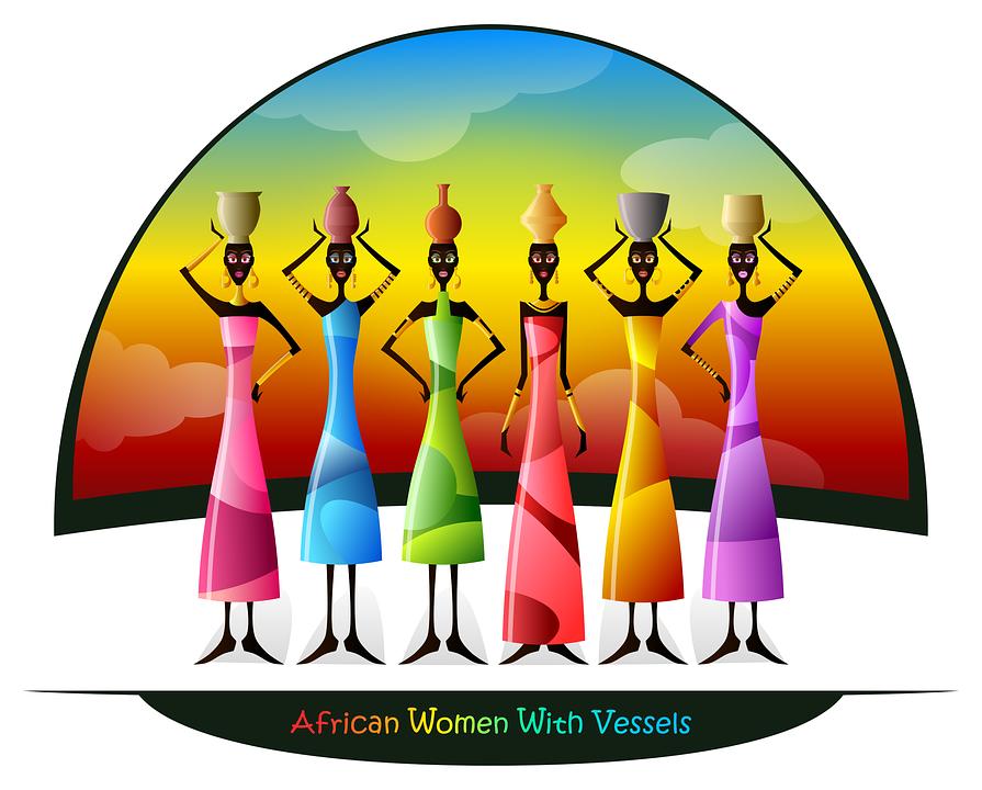 Africano, Cultura, Mulheres, Navios, Black