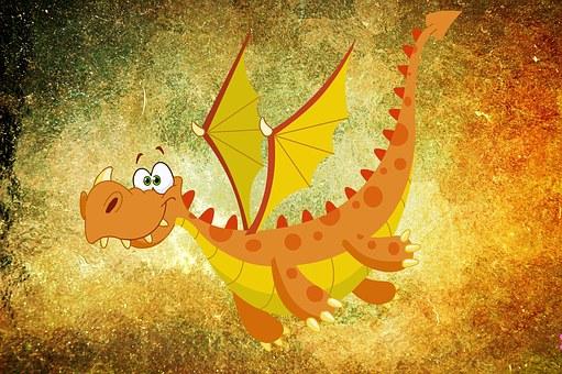 Dragon, Mitycznych Stworzeń, Potwór
