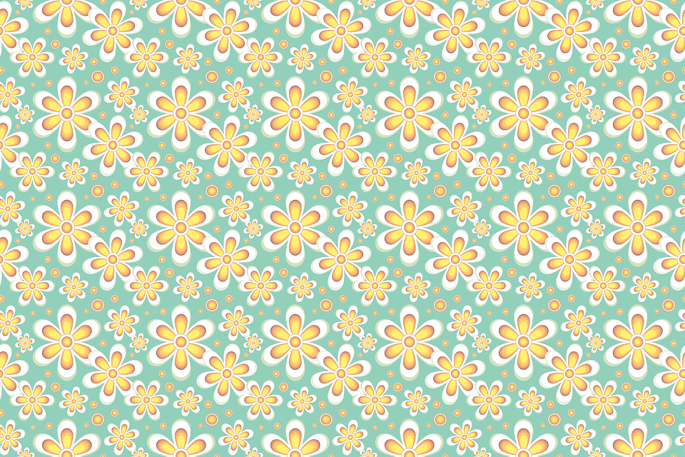 Free illustration: Seamless Pattern, Floral, Pastels ...
