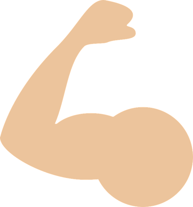 free vector graphic: muscle, arm, icon - free image on pixabay