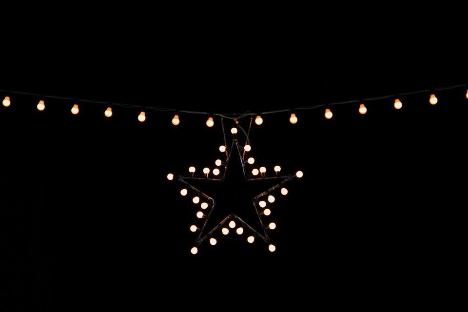 Stern Weihnachtsbeleuchtung.Weihnachtsbeleuchtung Stern Kostenloses Foto Auf Pixabay