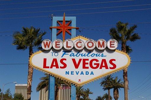 Welcome To Las Vegas, Las, Vegas, Sign