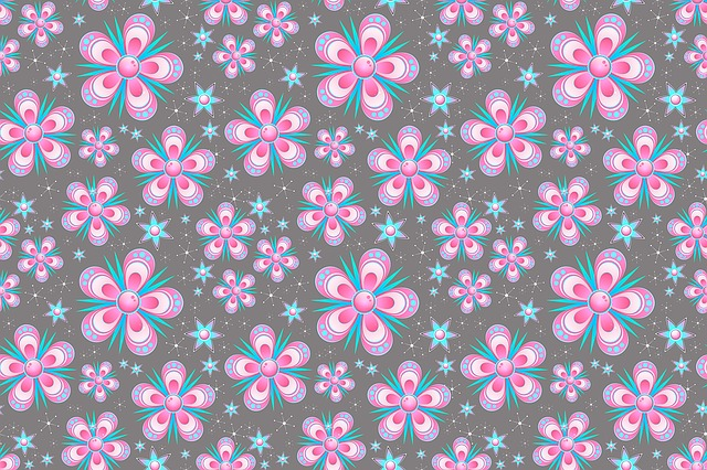 Seamless Pattern Flowers Pink 183 Free Image On Pixabay