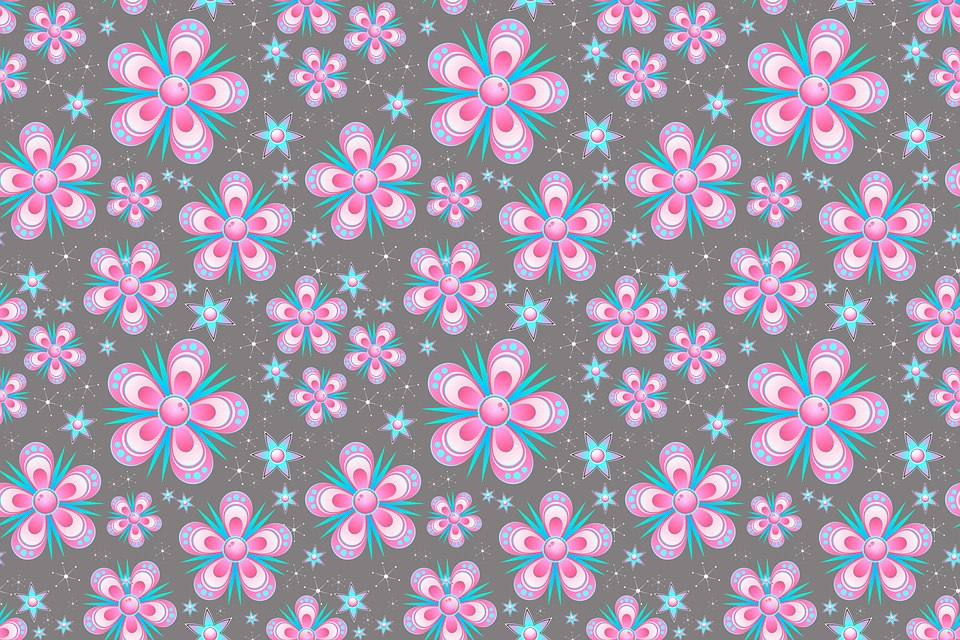seamless pattern flowers pink  u00b7 free image on pixabay