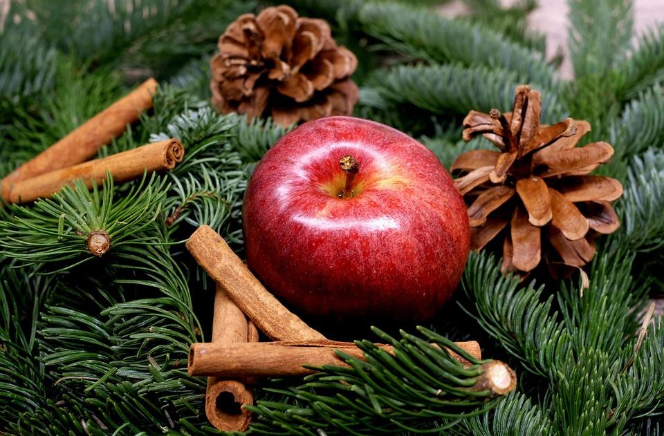 Free photo: Apple, Fruit, Red, Christmas - Free Image on Pixabay ...