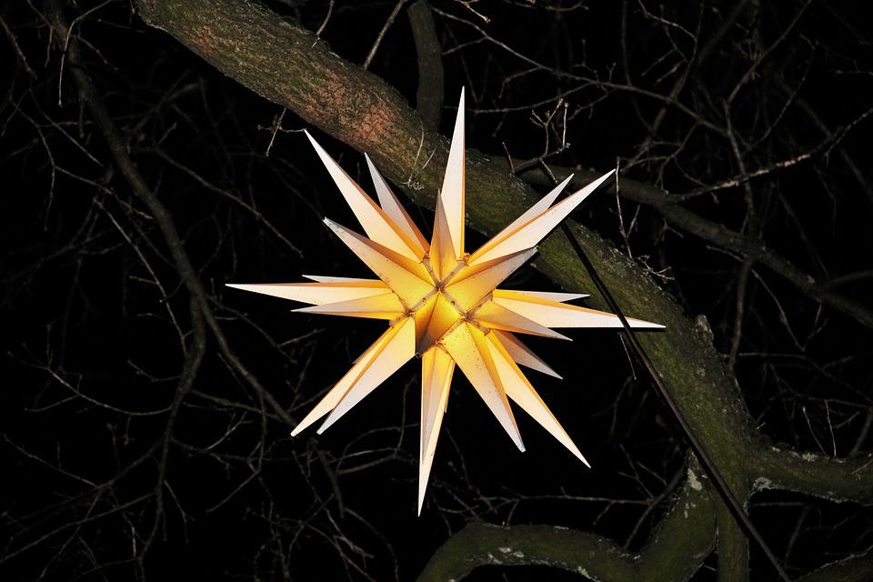 Moravian Star Christmas Shining · Free photo on Pixabay