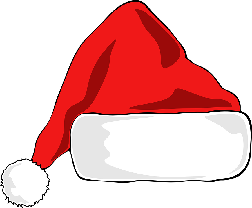 santa hat clipart with transparent background - photo #50