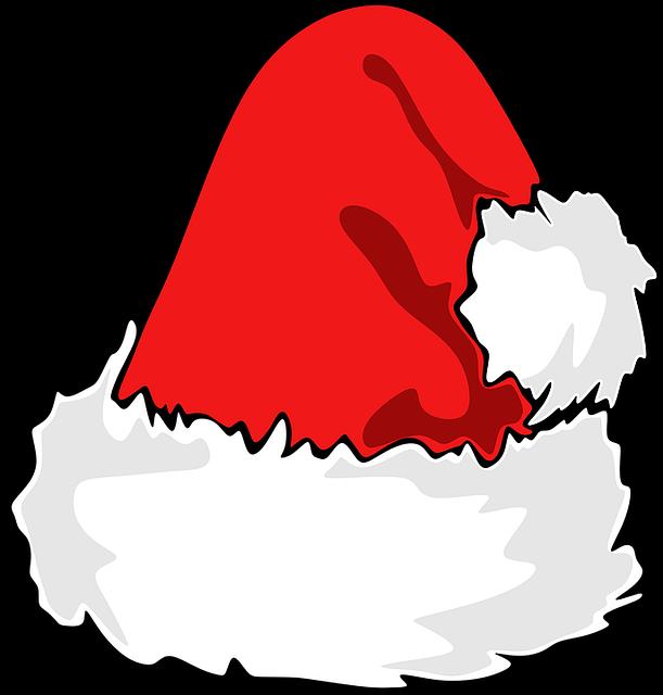 Anime santa hat transparent