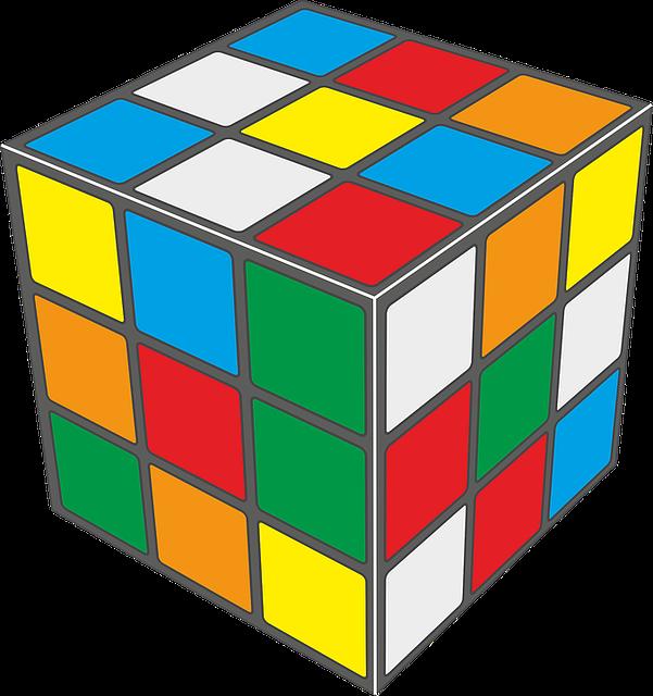 Babyrajeshraj Cube Cuborubik 183 Free Vector Graphic On Pixabay