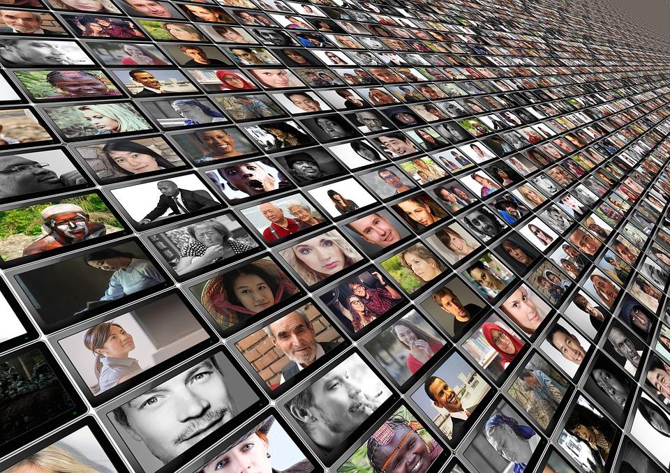 Personen, Menschen, Gesichter, Monitor, Perspektive
