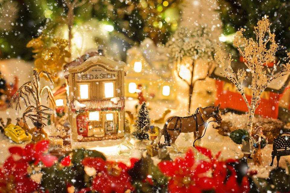 Free photo christmas village christmas xmas free image on christmas village christmas xmas snow winter voltagebd Images
