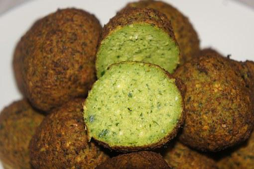 Falafel, Middle Eastern Food, Chickpeas