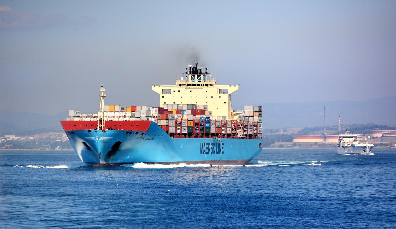 Transport morski kontenery