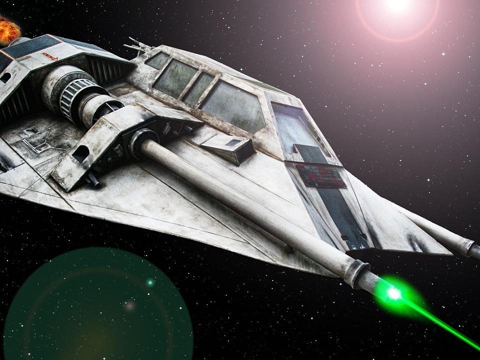 star wars space ship laser free photo on pixabay. Black Bedroom Furniture Sets. Home Design Ideas
