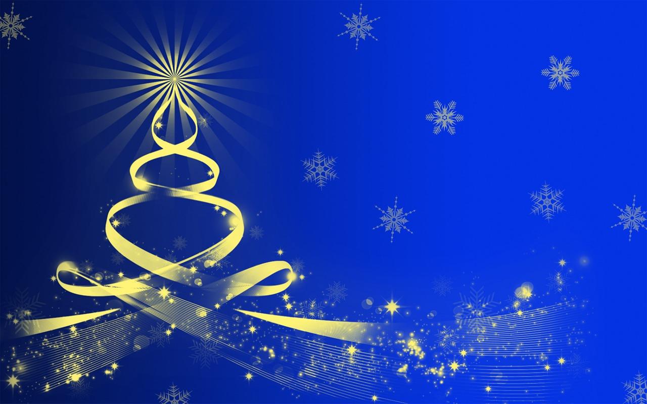 Днем победы, новогодняя открытка фотошоп синяя