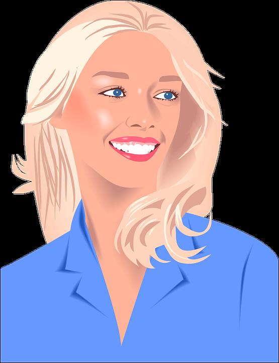 Fille Blonde Portrait Sourire - Image gratuite sur Pixabay