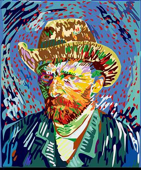 Vincent Van Gogh, Oil Painting, Artist