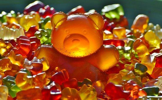 Giant Rubber Bear Gummibär Gummibärchen Gu