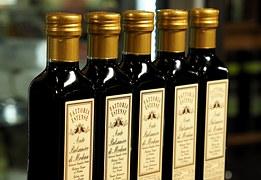 Vinegar Fermentation, Glass Bottle