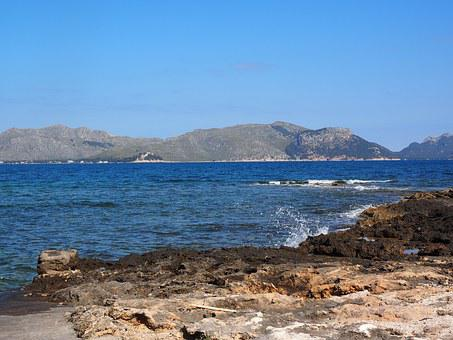 Bay, Mallorca, Bay Of Pollensa, Sea
