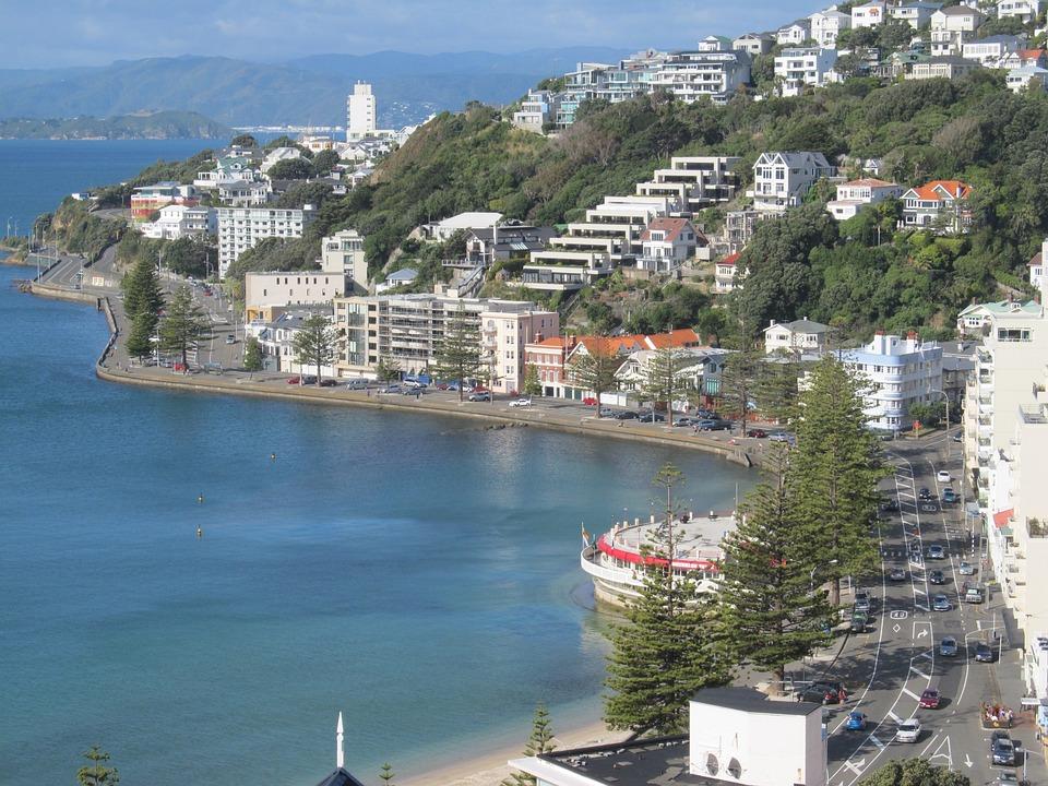 Wellington, Oriental Bay, New, Zealand, Capitol