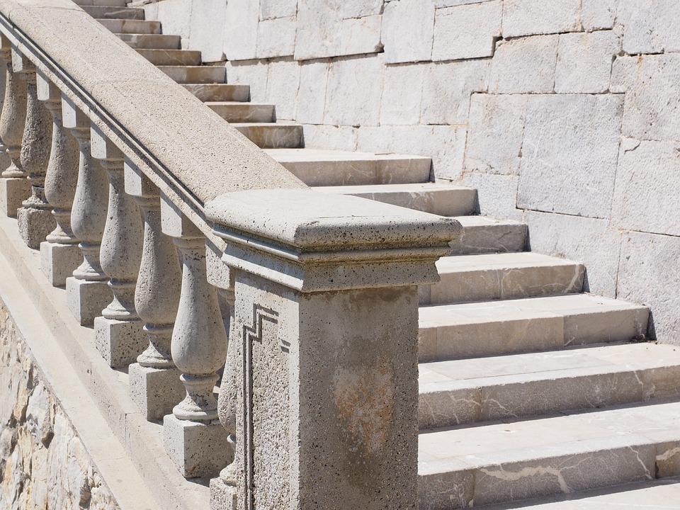 Stairs, Emergence, Stone Stairway, Gradually, Staircase