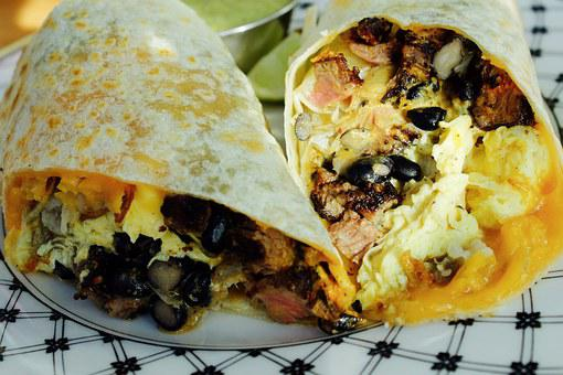 Food Burrito Mexican Meat Meal Tortilla Lu