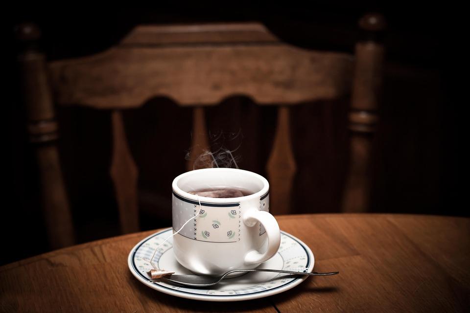 茶, ホット, カップ, ドリンク, お茶のカップ, 紅茶のカップ, 朝, ブラウン, 茶碗, マグカップ