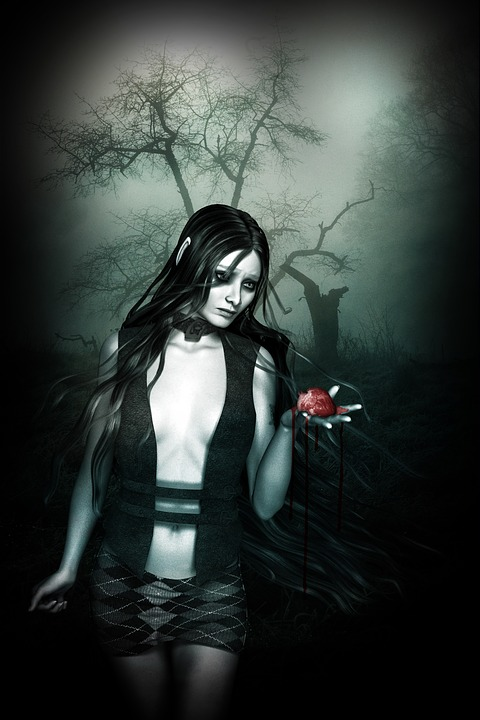 Dark Woman Mystical 183 Free Image On Pixabay