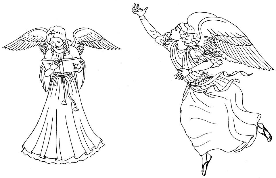 Free Illustration Angel Christmas Angel Free Image On