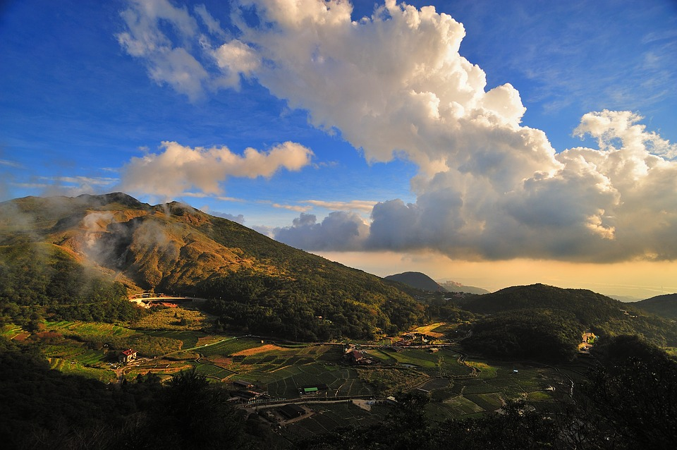 Free Photo Sky Cloud Taiwan Mountain Free Image On