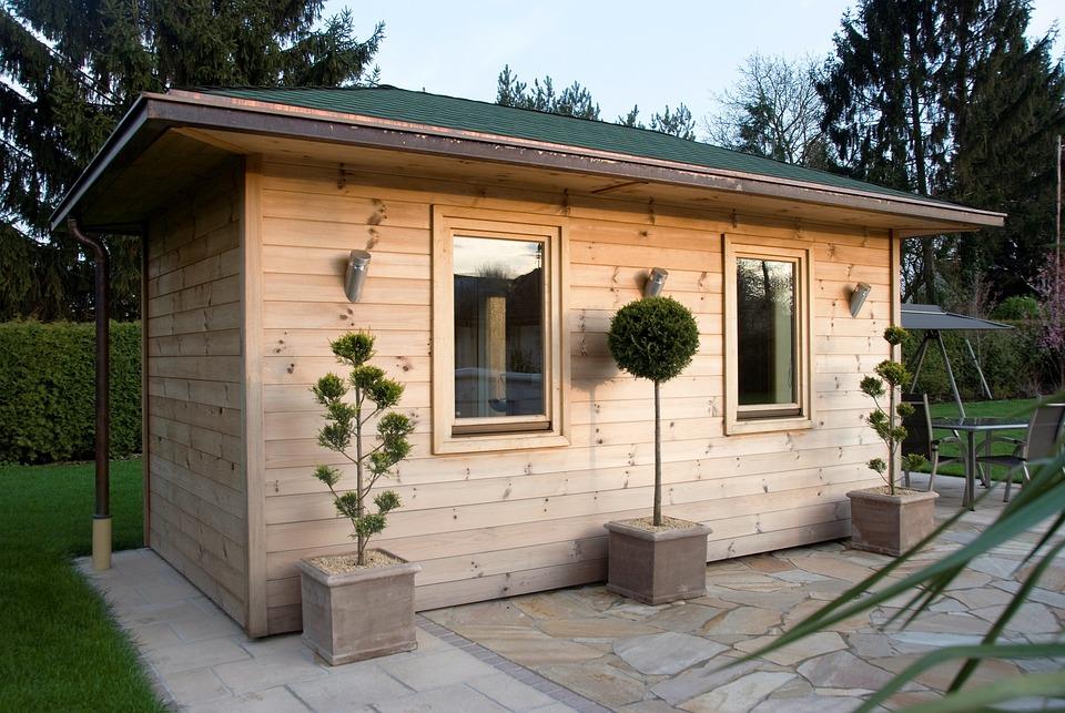 free photo outdoor sauna wood sauna sauna free image. Black Bedroom Furniture Sets. Home Design Ideas