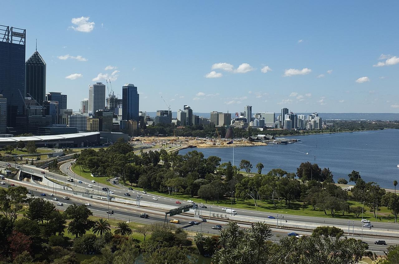 Город перт австралия фото
