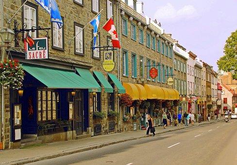 カナダ, ケベック州, オールド ケベック, 低い町, グランド通り