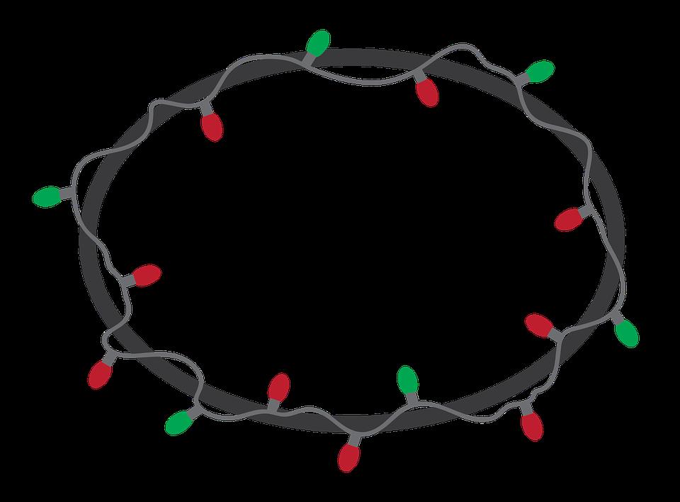 Marco Luz De Navidad · Imagen gratis en Pixabay