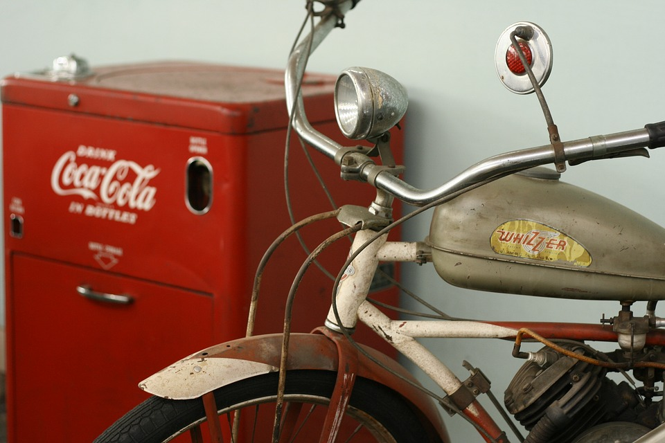 foto gratis vintage moto coca cola imagem gratis no. Black Bedroom Furniture Sets. Home Design Ideas