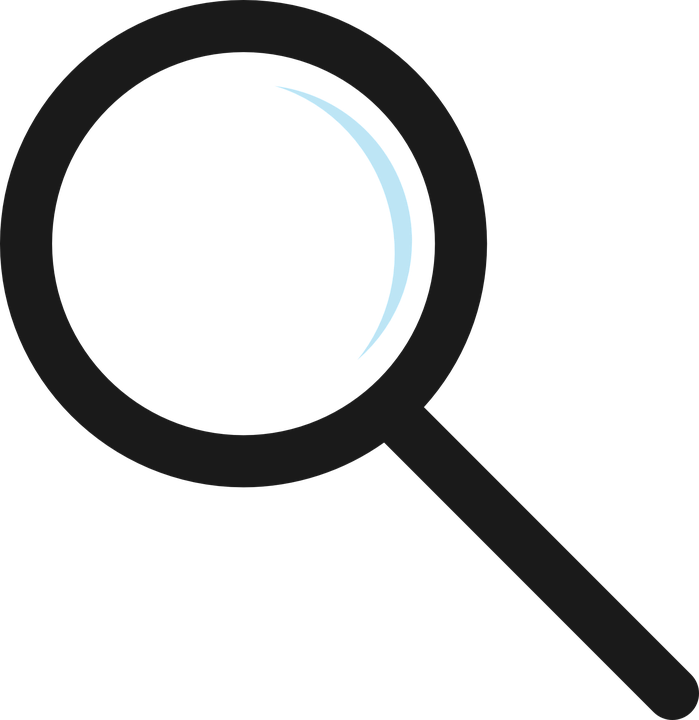 magnifier glass icon free vector graphic on pixabay rh pixabay com vector search pattern vector search in c++