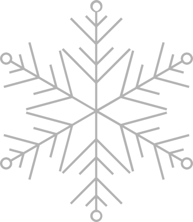Snowflake Frost Ice 183 Free Vector Graphic On Pixabay